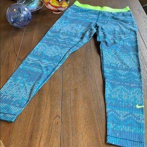 Nike PRO Fleece Lined Compression Leggings